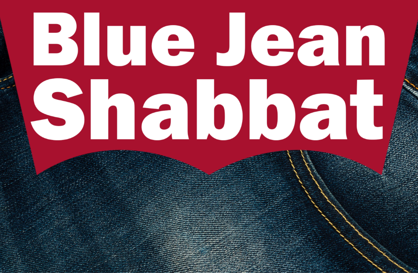 Blue Jean Shabbat