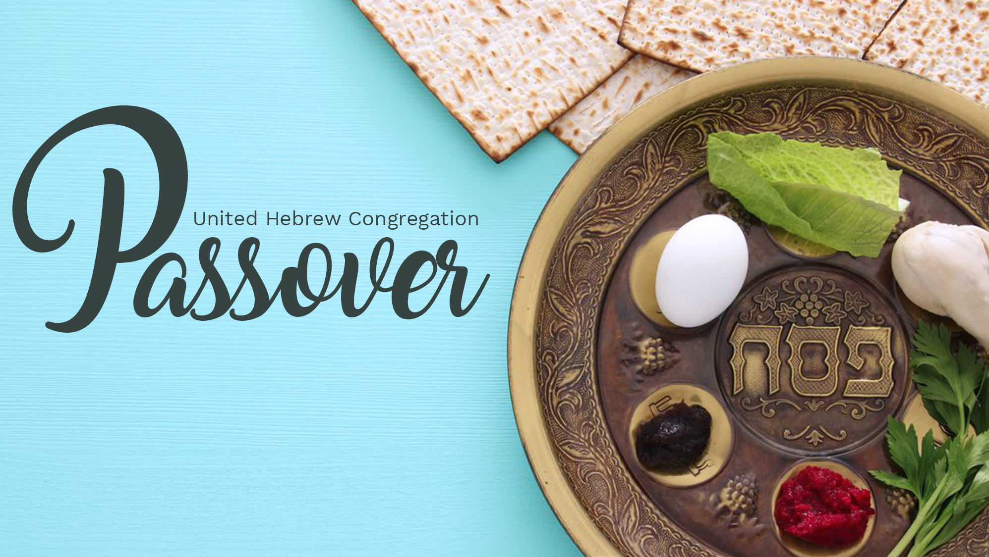 Passover First Night Seder - Canceled